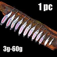schwer silber outdoor metall - löffel - köder bass bewältigen vib fischköder