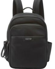Calvin Klein Lane Nylon Key Item Backpack