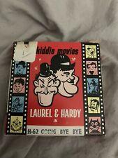 """Vintage 8 mm Flim Home Kiddie Movie 50 ft 50's Laurel & Hardy """" Going Bye Bye """""""