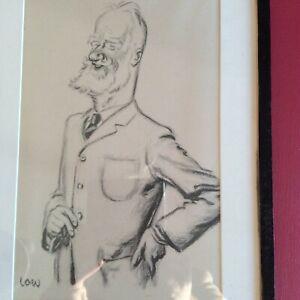 VANITY FAIR STYLE CARTOON. George Bernard Shaw by Low