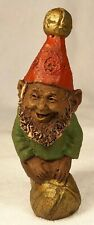 """Jingle """"G""""-R 1986~Tom Clark Gnome~Cairn Item #1122~Ed #4~Coa and Story Included"""