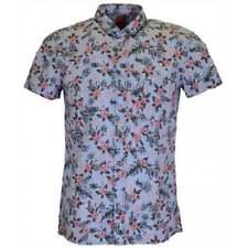 Camisas y polos de hombre HUGO BOSS color principal azul 100% algodón