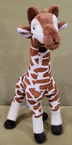"FAO Schwarz Toys R Us 11"" Safari Giraffe Plush Stuffed Animal Geoffrey Toy Lovey"