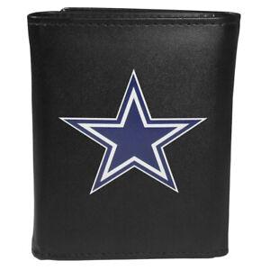 Dallas Cowboys Leather Tri-fold Wallet, Large Logo