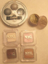 EYE SHADOW NEUTRAL WHITE PINK green silver NYC PHYSICIAN'S FORMULA MAKE UP LOT