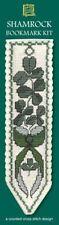 Shamrock Irish Ireland Bookmark Cross Stitch Kit - Textile Heritage