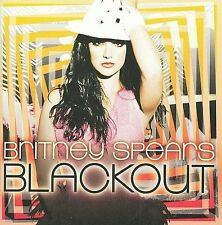1 CENT CD Blackout - Britney Spears JAPAN IMPORT/OBI/TEEN POP
