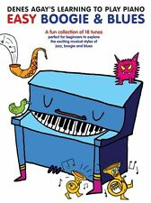 Denes Agay's Learning To Play Piano Boogie & Blues Jazz Lesson Music Book