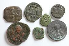 7 byzantinische Münzen