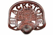 Tractor Seat Blackstone Stamford & Compy Ltd - Cast Iron Rusty Brown
