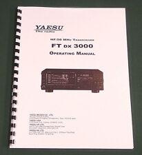 Yaesu FTdx-3000 Operating Manual - Premium Card Stock Covers & 28lb Paper!