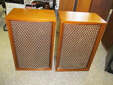"Vintage SANSUI SP-1700 Speakers 3-Way 5-Driver 12"" Woofer Tuned Ports  WORKS,"