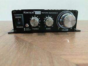 KINTER K2020A+ LIMITED EDITION TRIPATH TA2020-020 CLASS T AMPLIFIER