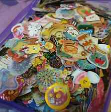 Kawaii Loose Sticker Flakes 100pcs Grabbie Stationery San-X Q-lia Kamio Crux
