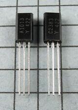 2SA1013-Y & 2SC2383-Y, A1013 / C2383 : 5 pair  per Lot