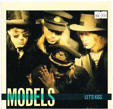 """MODELS let's kiss AUSSIE MUSHROOM 7"""" PIC SLEEVE 45rpm_1986 NEAR MINT"""