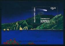 [105768] Dominica 1986 Space travel weltraum Halley comet Souvenir Sheet MNH