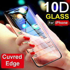 10D Tempered Glass Screen Protector For IPhone 11 Pro MAX XS XR X 8 7 Full Cover