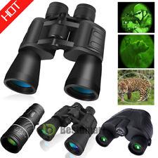 Day&Night Combo Binoculars&Monocular Hunting Camping Bak4 Telescopes High Power