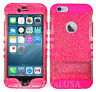 For Apple iPhone 6 Plus | 6s Plus - KoolKase Hybrid Cover Case - Clear Glitter
