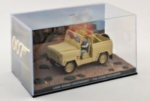 Land Rover Series Lightweight Model 1:43 Scale James Bond The Living Daylights