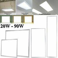 1X2FT 2X2 FT 2X4 FT LED Back Lit Flat Panel Recessed Lighting Drop Ceiling Light