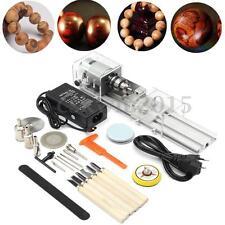 100W Mini Multifunction DIY Lathe Beads Machine Polisher Table Saw Kit 110/220V
