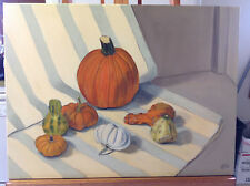 Original oil painting-Fall still life--NEW release from artist-24x18-signed