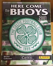 Complete Sticker Set Celtic 2001 01 Panini Excellent Condition