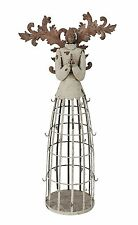 Rustic Metal Angel Earring Jewelry Display Holder Hanger Organizer Home Decor