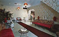 Bellville Ohio 1960s Postcard The San-Dar Dining Room Richland County