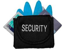 Embroidered SECURITY Glove Pouch inc CPR KIT for Officer, Guard, Patrol, SIA
