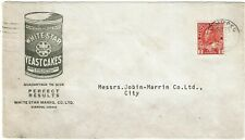 New ListingCanada 1920's Winnepeg cancel on cover for White Star Yeast Cakes