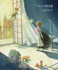 Peter Pan Beautiufl Illustration Korean Book Fairy Tale Story Gift Classic Novel