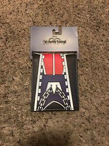 Kingdom Hearts Bifold Wallet Gamestop Sora Costume Disney HTF OOP