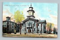 ALLENTOWN PA PENNSYLVANIA OLD VIEW OF LEHIGH COUNTY COURT HOUSE POSTCARD B-1-2