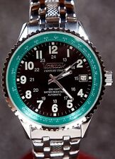 Russian Mechanical Automatic watch Vostok 2416b 31 jewel Green and black dial