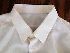 Vintage 1980s mens patterned shirt Marks & Spencer collar size 17 old but clean