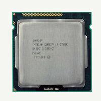 Intel Core i7-2700K CPU 3.5GHz Quad Core 8-Thread LGA 1155 Processor 100% work