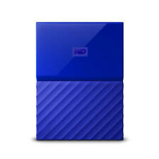 WD My Passport 2TB Blue Manufacturer Refurbished Portable Hard Drive by Weste...