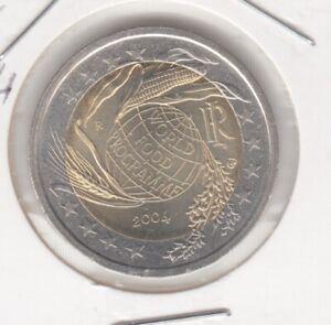 Italien  2 Euro  2004  Welternährungsprogramm  bankfrisch