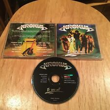 Krokus - To You All CD 00s reissue ac/dc gotthard bonfire dokken y&t warrior