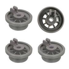 4pcs/set Plastic Dishwasher Lower Bottom Basket Rail Wheel for 423232 165314