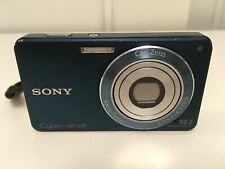 Sony Cyber-shot DSC-W350 14.1MP Digital Camera 4x Optical Zoom with 8GB mem card