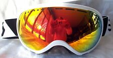 NEW $130 Scott Womens Off Grid Winter White Snow Ski goggles Ladies Roxy Orange