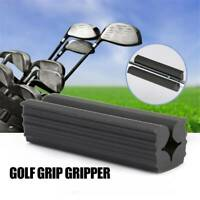 Rubber Golf Practice Club Grip Vice Clamps Replacement  Wedging Clamp Black DP