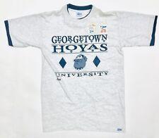 New listing Vintage Deadstock Georgetown Hoyas Salem Roll Up t-shirt 90's