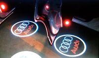 4xTürbeleuchtung Laser Logo LED f. Audi A1,A3,A4,A5,A6,A7,A8,Q3, Q5, Q7, TT, R8.