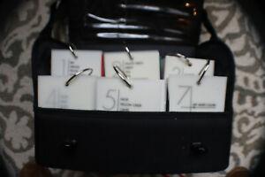 Benjamin Moore Color Preview - Fan Deck Carrying Case w/ Samples 6 Decks