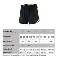 Men's 2 in 1 Running Cycling Shorts Quick Dry Marathon Training Fitness N7V3